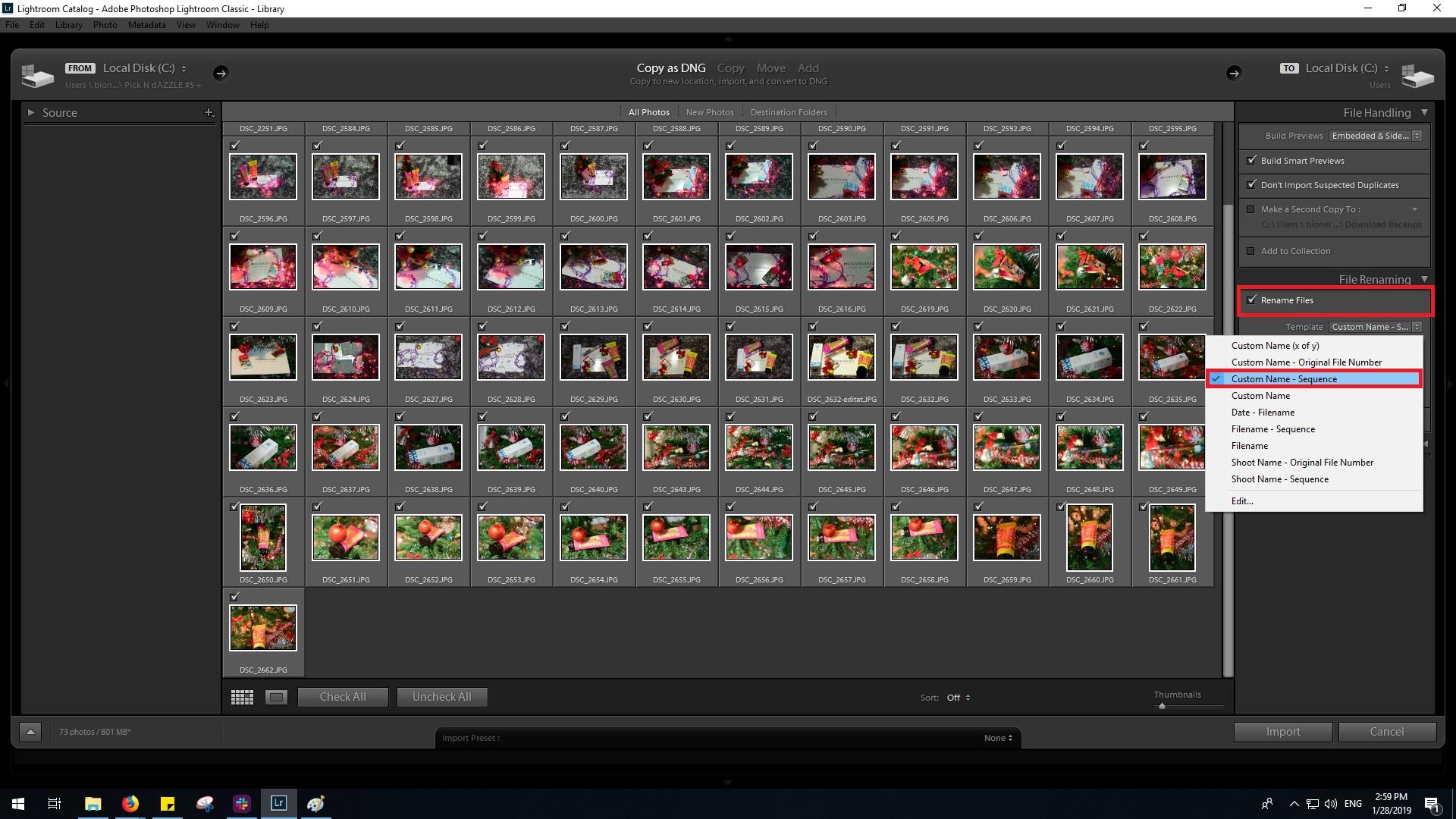 redenumire fotografie export lightroom seo pentru fotografi bianca ionel pasul 1