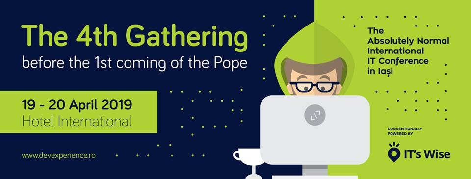 DevExperience 2019 – The 4th Gathering of IT Evangelists before the 1st coming of the Pope