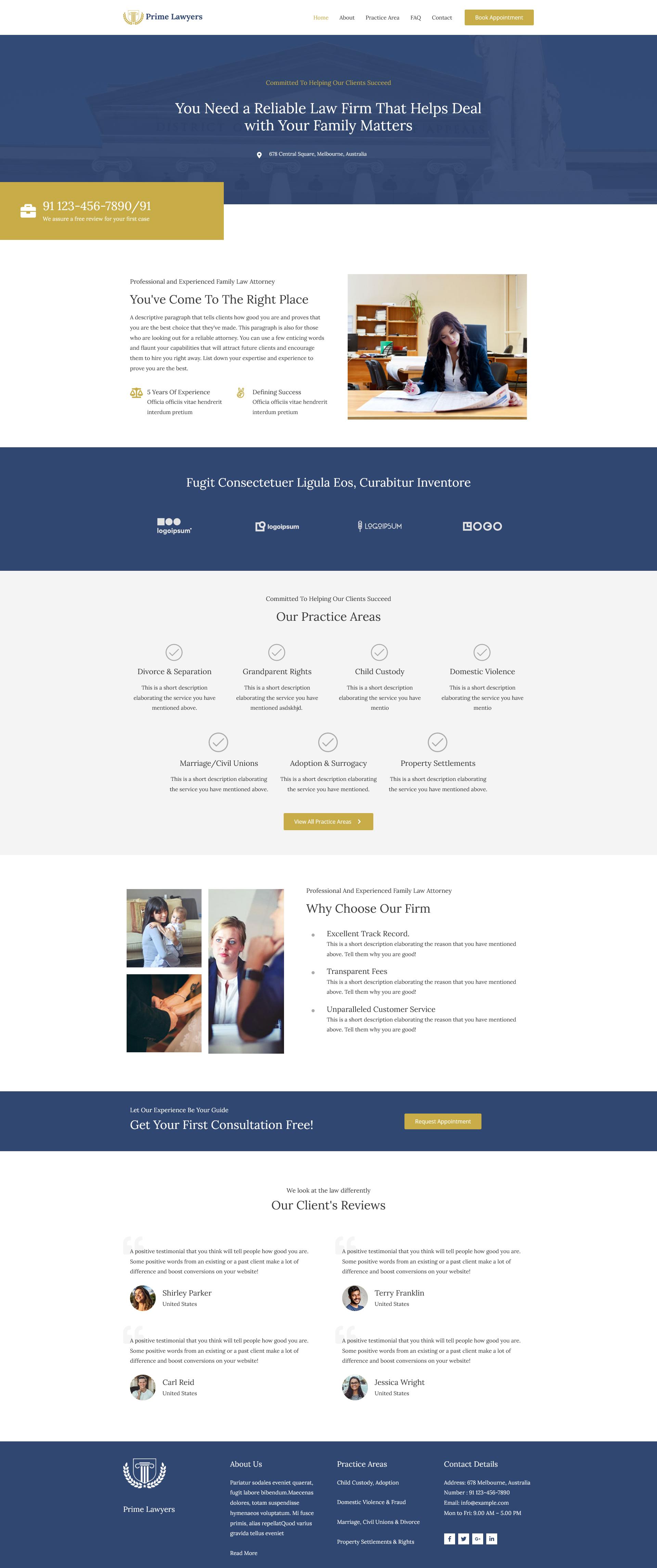 Website avocat - site de prezentare birou de avocatură. Ești avocat sau deții un birou de avocatură? Descoperă de ce ai nevoie de un website! model site avocat 2